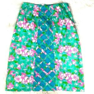 Vintage Lilly Pulitzer The Lilly A-line Skirt